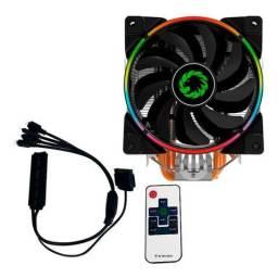 Cooler Gamemax Argb Gamma 500 + Controle Remoto