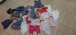 Roupas de bebês menina  0 a 3 anos