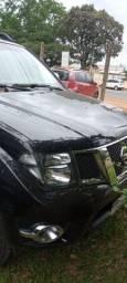 Frontier 2014/14 3 dono diesel completa de tudo 4x4 auto diesel preta