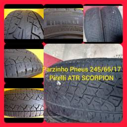 Par de pneus 245/65/17 Pirelli