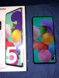 Samsung A51 com 5 meses de uso