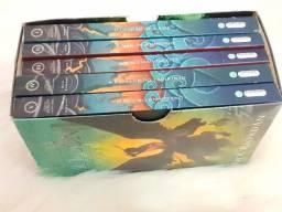 Box Percy Jackson e o Ladrão de Raios