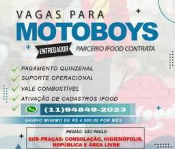 Precisa-se de Motoboy