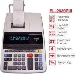 Calculadora Sharp 2630 Nova R$1.190,00