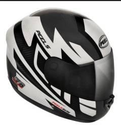 Capacete Para Moto Peels Spike Veloce Preto-chumbo 56