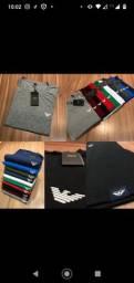 Camisas, camisetas Ralph Lauren, Tommy, Lacoste e Ricardo Almeida