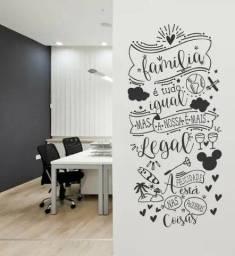 Pinturas em parede.