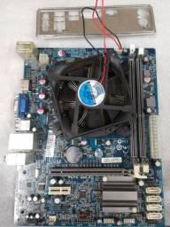 Placa mãe + processador G530 2.4