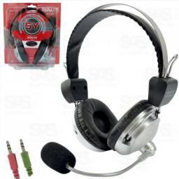 Fone Com Microfone Headset Gamer
