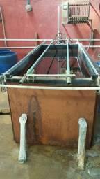 Venda de tanque e rotativo de zinco acido