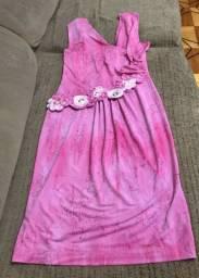 Vestido Rosa - Tamanho 36