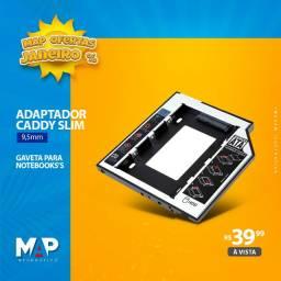 Adaptador Caddy Slim 9,5mm ( nova )