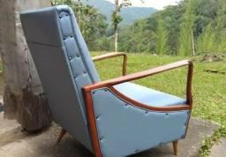 Poltronas Cadeiras de design 60 pê palito restaurada 100%