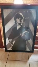 Aceito troca - Quadro John Lennon Enorme 90cm por 60cm!