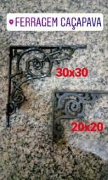 Cantoneiras Rusticas ferro fundido