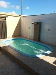 Casa na praia da Caueira com piscina