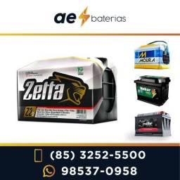 Bateria 100Ah Zetta e Moura, qualidade para o seu caminhão