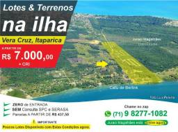 Terrenos Vera Cruz Itaparica Cacha Prego Tairu