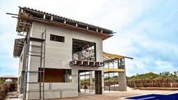 Steel frame construção e engenharia