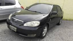 Corolla xli 1.8 aut banco couro - financio em até 48× - 2008