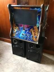 Máquina de música ( 2 máquinas c/4 cx de som)