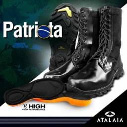 Coturno Atalaia Patriota Extraleve Extra Brilho Original C z 048586b89ccdb