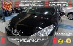 Ipva pago - Peugeot 408 2.0 Allure 16v Flex 4p Tiptronic 2012 - 2012
