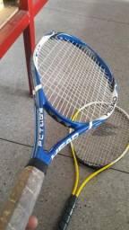 02 Raquete de tênis. (OBS: Produto usado)
