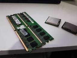 Ram DDR2 + 2 Processadores 775