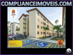 Entrada de RS 1.800,00 Apartamentos à Venda, 2 quartos Av. Norte do Araçagy