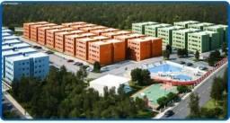 Apartamento para venda em vitória de santo antão, cajá, 2 dormitórios, 1 banheiro, 1 vaga