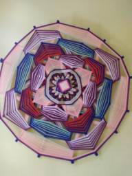Mandala de tecido