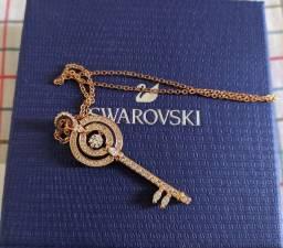 Colar (corrente com pingente) Swarovski Original