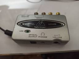 Interface de Áudio USB Behringer UCA 202 U-Control