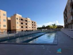 Apartamento com 2 dormitórios para alugar, 53 m² por R$ 709,00/mês - Centro - Eusébio/CE