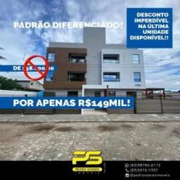 Apartamento com 2 dormitórios à venda, 60 m² por R$ 149.000 - Mangabeira - João Pessoa/PB