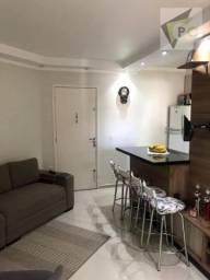 Apartamento com 2 dormitórios à venda, 47 m² por R$ 290.000 - Cachoeirinha - São Paulo/SP