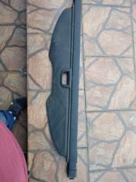 Cortina Retrátil do porta malas da captiva cor preta