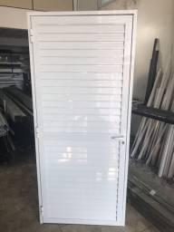 Portas Veneziana de alumínio sob medidas