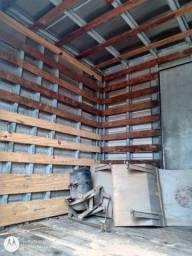 Baú alumínio para caminhão MB.toco comprimento 6 metros 2,40 largura 2,20 altura