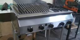 Chair broiler + chapa + fogão tudo sob medida fabricação<br>