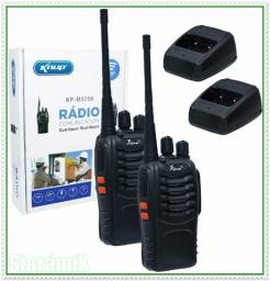 Kit com 2 Rádio Comunicador Walk Talk Profissional. NOVO