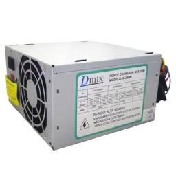 Fonte Atx 250w Real Com Cooler Dmix