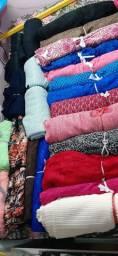 Lote tecidos e de rendas
