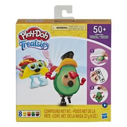 Massinha de Modelar Play-Doh Kit 2 Mini Lanche 50+ Combinações Hasbro