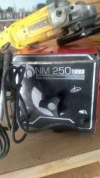 Máquina de Solda Bambozzi NM250 Turbo 250A Bivolt