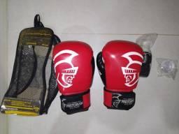 Kit de Boxe Pretorian Novo, Luvas de Muay Thai, Bandagem