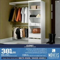 Guarda Roupa Modelo Closet