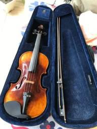 Violino Eagle Vk 644 4/4 Envelhecido C/case Completo profissional