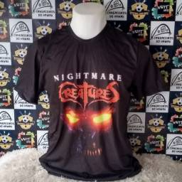 Camisa nightmare creatures